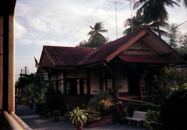 Thailand / タイ、駅舎