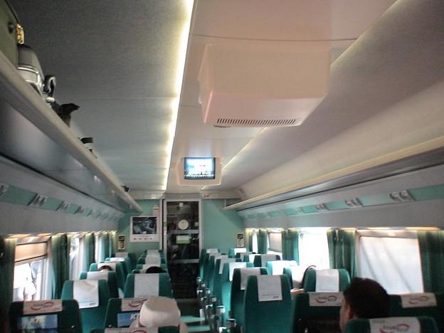 TGV - KTX, economy class / 普通室車内