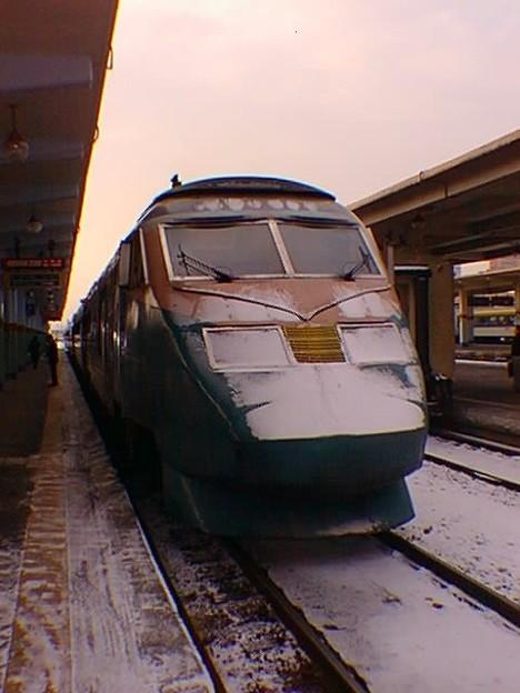 DMU (DHC) / 雪をかぶったPPセマウル号