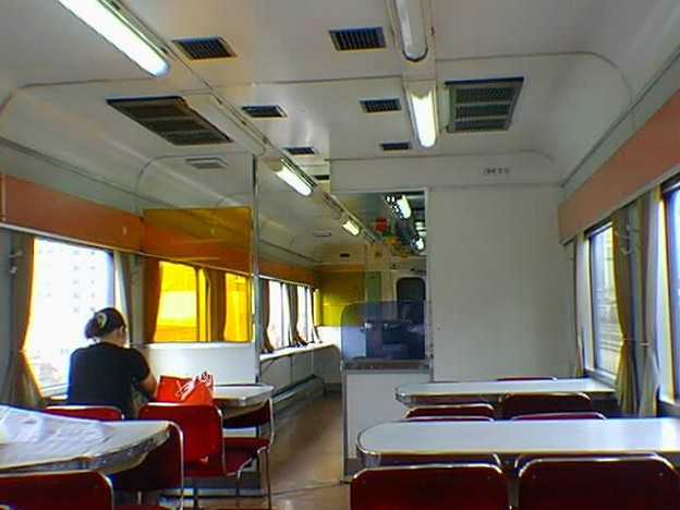 EMU - #9991号 / もと電車の食堂車