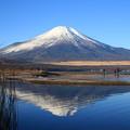 富士山160101 06 山中湖 交流プラザ「きらら」から