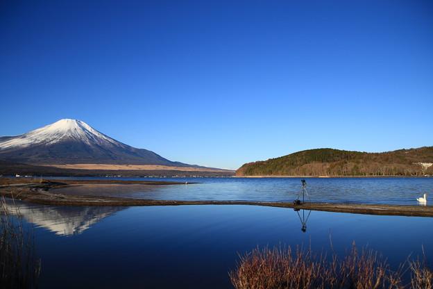 Photos: 富士山160101 07 山中湖 交流プラザ「きらら」から