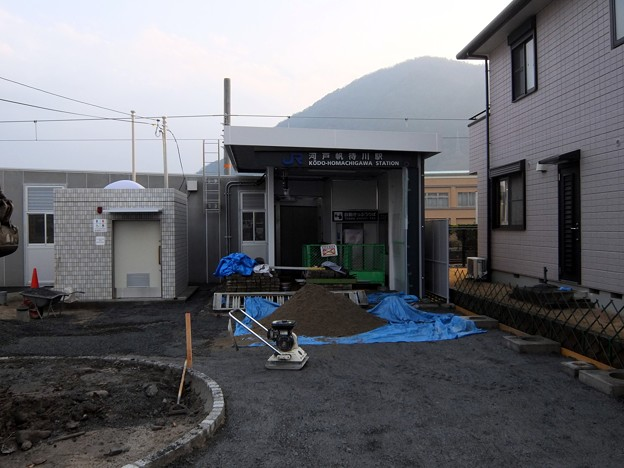 河戸帆待川駅(開業前)