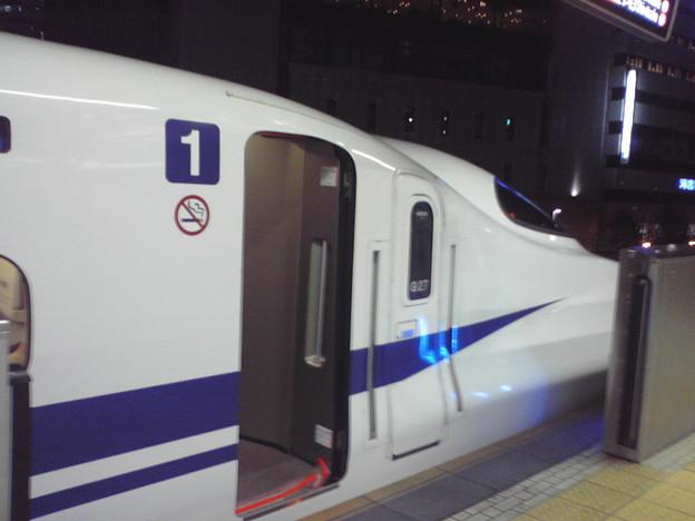 名古屋駅新幹線ホームなう!