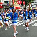 やっさ踊り2009、中国新聞チームのスマイル