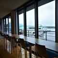 Photos: 新装オープンした旅客船ターミナルからの眺め@笠岡諸島@三洋汽船