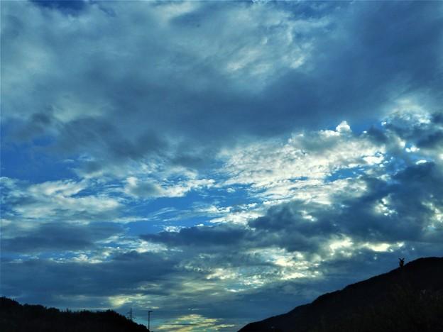 処暑前日の夕雲@R2バイパス