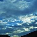 写真: 処暑前日の夕雲@R2バイパス