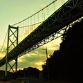 Photos: しまなみ海道・因島大橋の夕暮れ@夏の布刈瀬戸