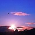 Photos: 朝陽が昇り鳥が舞う~冬至2010千光寺山~