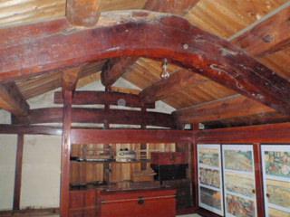油屋さんの蔵の二階 当時のVIPルーム
