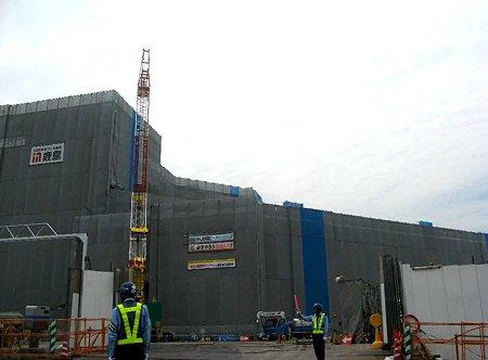 イオンモール新瑞橋ショッピングセンター 2010年オープンに向け建設中 ♯6-1