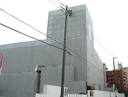 エイデンみなと七番町店 平成21年10月28日オープン予定で工事中-210625-1