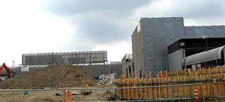 バロー高浜店 (仮称) 平成21年11月28日 オープン予定 建設中-210923-1
