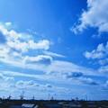 屋上からの空と雲