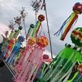 写真: 安城七夕まつりの竹飾り