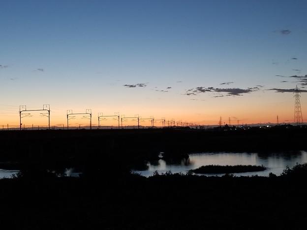 写真: トワイライトの鉄橋 その2
