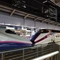 写真: 東京駅ホームにて