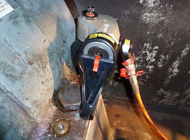 PLARAD 油圧トルクレンチ 締め付けトルク7000Nm
