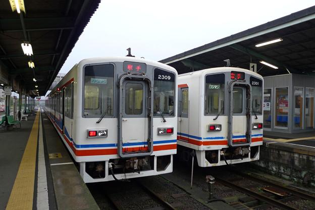 関東鉄道@水海道駅