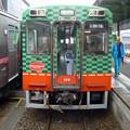 写真: 真岡鐵道@真岡駅で2両目切り離し