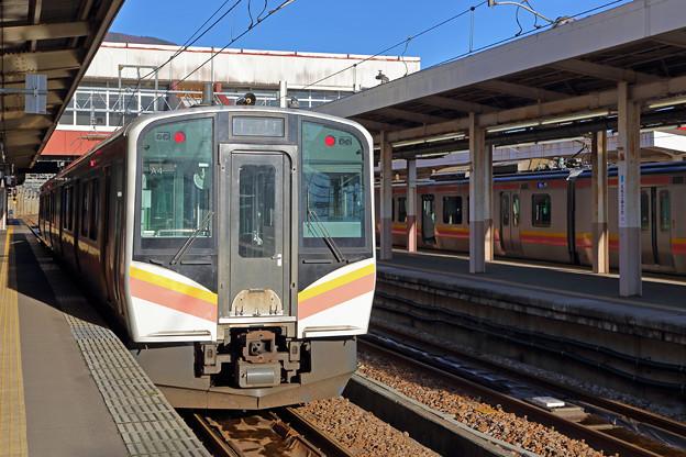 Photos: 上越線E129系@越後湯沢駅