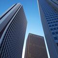 写真: 新宿の空は狭い・・