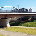 写真: 御影大橋・右岸から左岸を見る