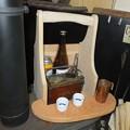 燗銅壺とカウンター