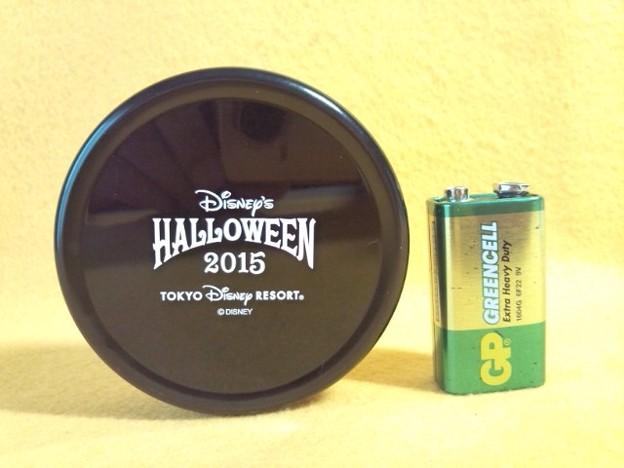ディズニー リゾート ハロウィーン 缶 メモ