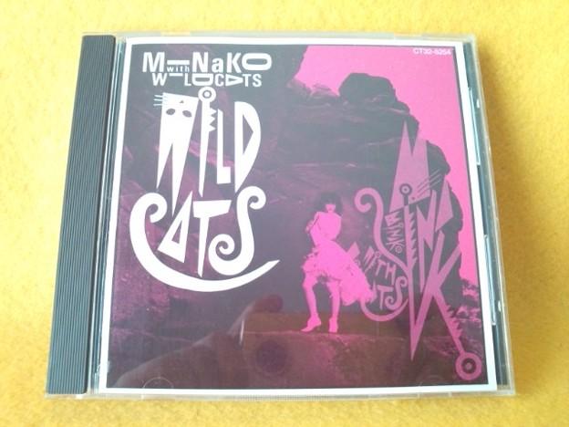ミナコ ウイズ ワイルド キャッツ 本田美奈子 CD