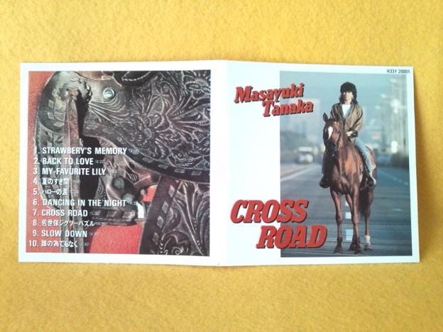 クロス ロード たなかまさゆき CD アルバム