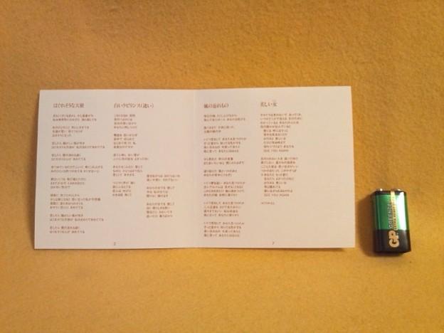 来生たかお タカオグラフィティ2 CD  歌詞カード