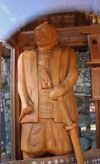天竜二俣、松平信康 木像彫刻(徳川家康、嫡男)