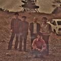 富幕山山頂   昔写真 車の有る所あたりに休憩舎が立っています。写真昭和51年