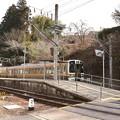 飯田線東栄駅にミニギャラリー・・!!