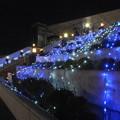 写真: イルミ_駅前 F1052