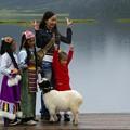チベット族の少女