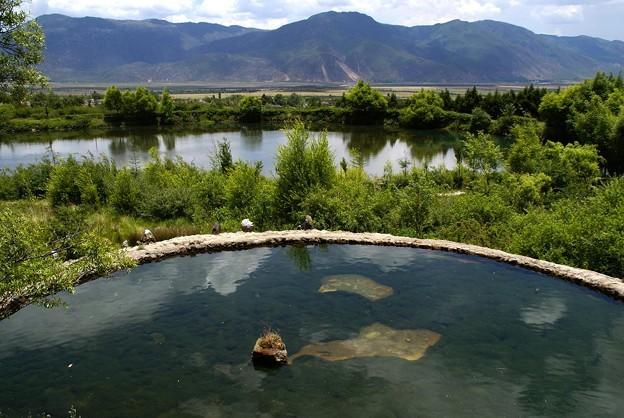 麗江の泉水