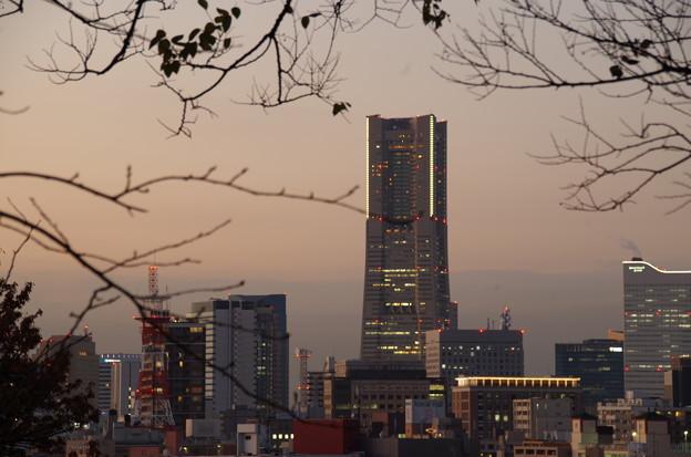 Photos: 山手よりランドマークタワーを望む