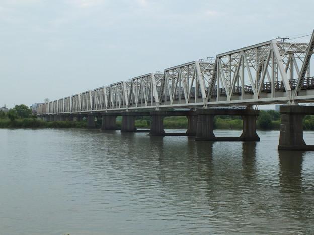 淀川橋梁(赤川仮橋)