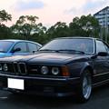 写真: BMW E24 M6(1987年式)