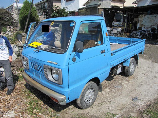 ダイハツ自動車 ハイゼット55ワイド スーパーデラックス