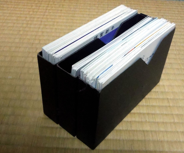 ビデオテープケースの状差