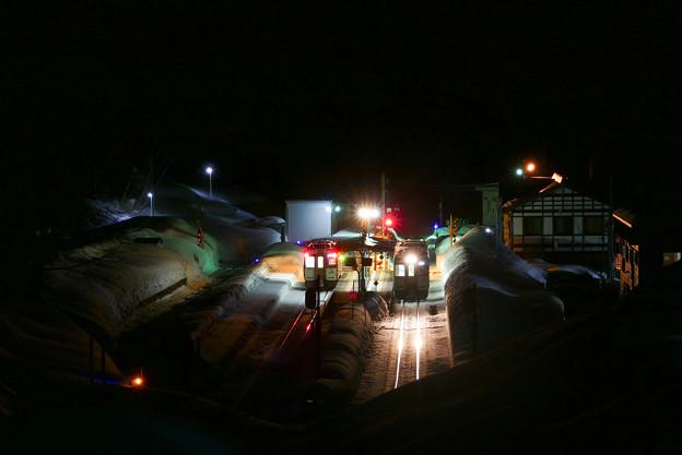 Photos: 夜の駅