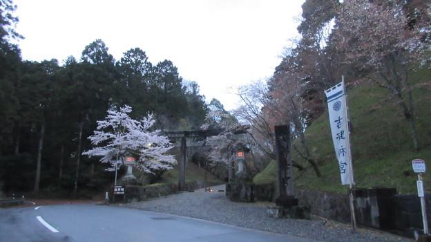 吉野神宮(奈良県吉野町吉野山)一の鳥居