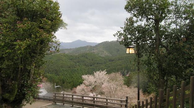 金峯山寺(吉野町吉野山)蔵王堂前より