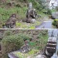 Photos: 如意輪寺(吉野町吉野山)楠木公父子像