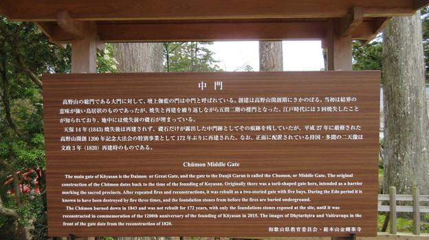 高野山壇上伽藍(高野町)中門