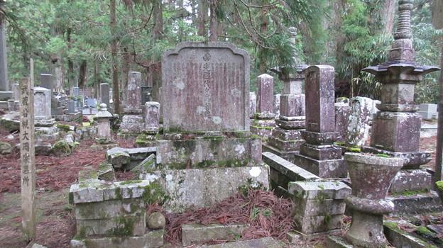 高野山金剛峯寺 奥の院(高野町)武蔵岩槻大岡家墓所